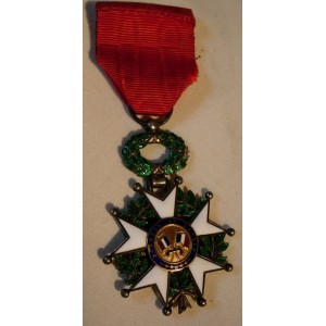 French Legion of honor and its diploma