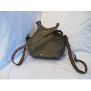 French WWI - Brown painted canteen 2 Liter