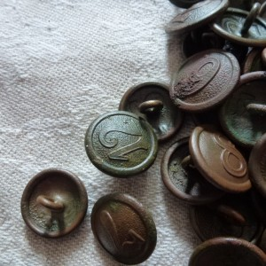 German Militaria WWI - Company buttons