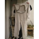 German Militaria WWII - South front tan coveralls.