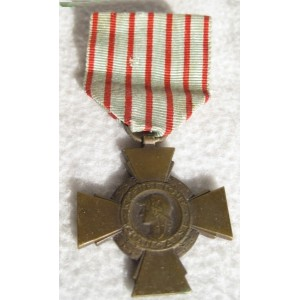 "WW1 French medal ""Croix du combattant"""